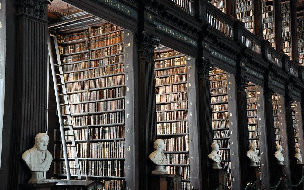 Book of Kells i Dublin