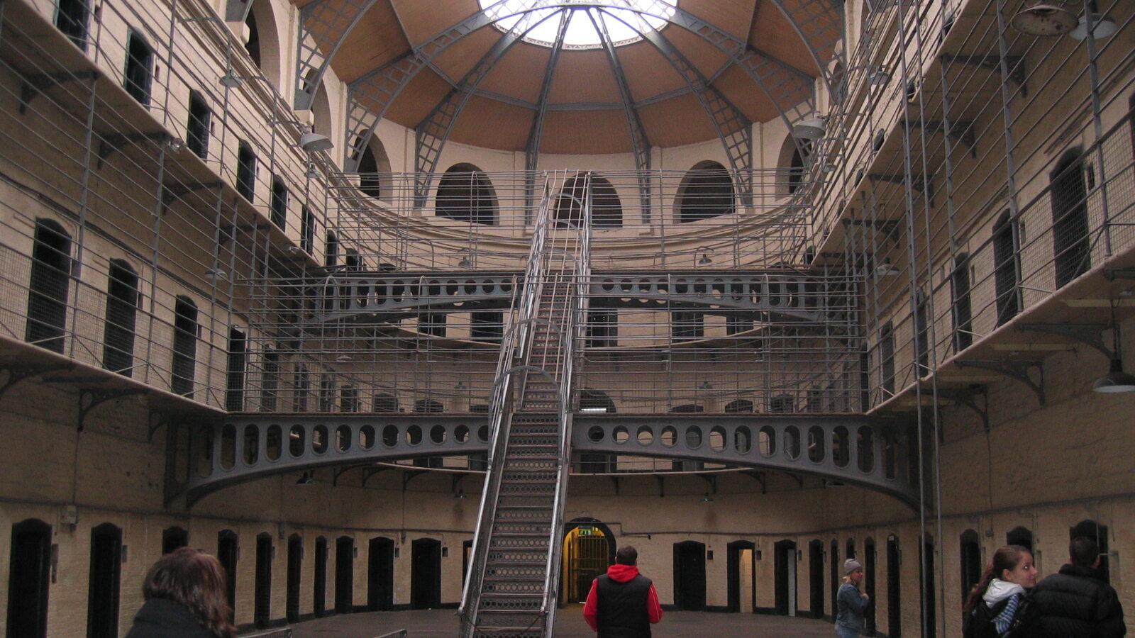 Innergården på Kilmainham Gaol